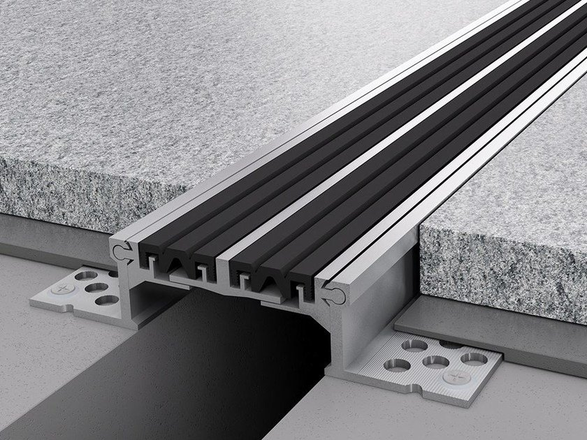 Aluminium Flooring joint NOVOJUNTA® PRO L85 by EMAC Italia