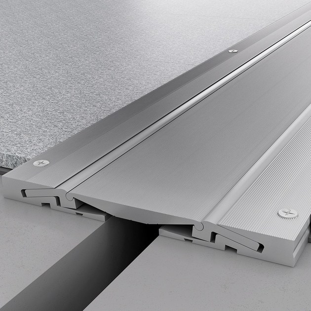 Aluminium Flooring joint NOVOJUNTA PRO® METAL SIS | Aluminium Flooring joint by EMAC Italia