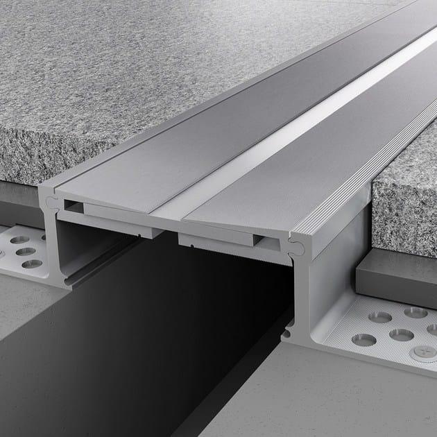 Aluminium Flooring joint NOVOJUNTA PRO® METAL SIS110 | Aluminium Flooring joint by EMAC Italia