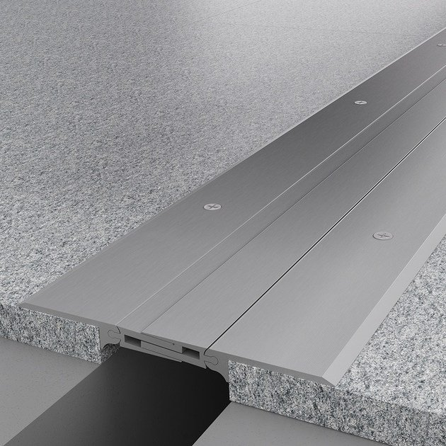 Aluminium Flooring joint NOVOJUNTA PRO® METAL SP90 | Aluminium Flooring joint by EMAC Italia