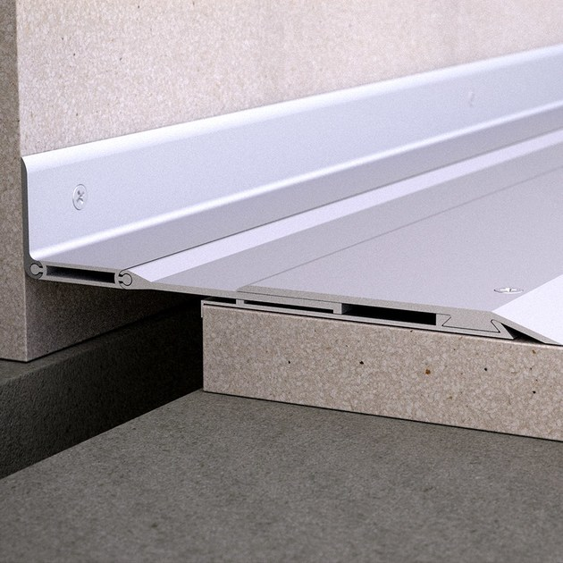 Aluminium Flooring joint NOVOJUNTA PRO® SISMO PE | Aluminium Flooring joint by EMAC Italia