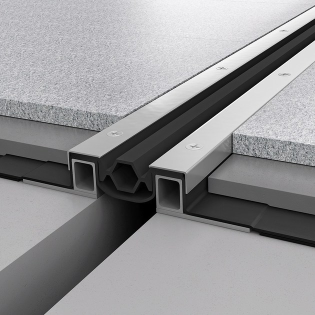 Giunto per pavimento in metallo NOVOJUNTA PRO® WP80 | Giunto per pavimento by EMAC Italia