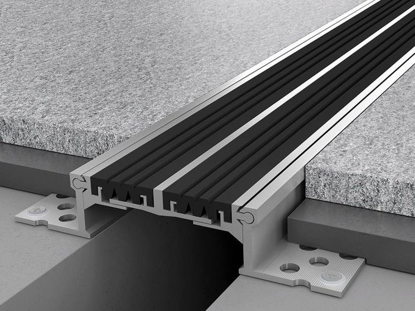 Aluminium Flooring joint NOVOJUNTA PRO® XL105 by EMAC Italia