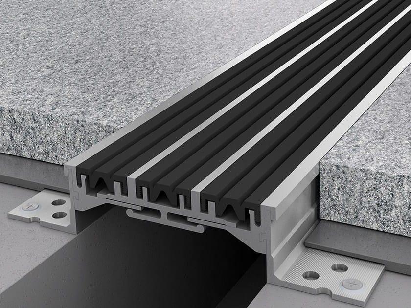 Aluminium Flooring joint NOVOJUNTA PRO® XL130 by EMAC Italia