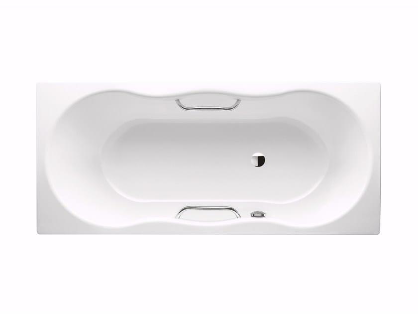 Built-in rectangular steel bathtub NOVOLA STAR by Kaldewei Italia