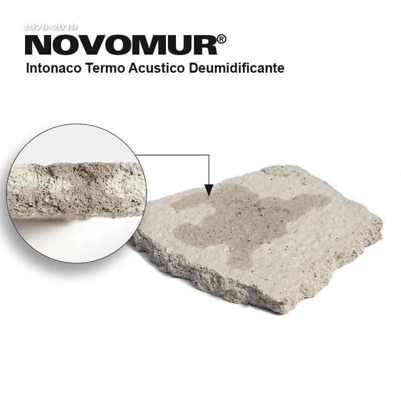 Novomur intonaco - particolari