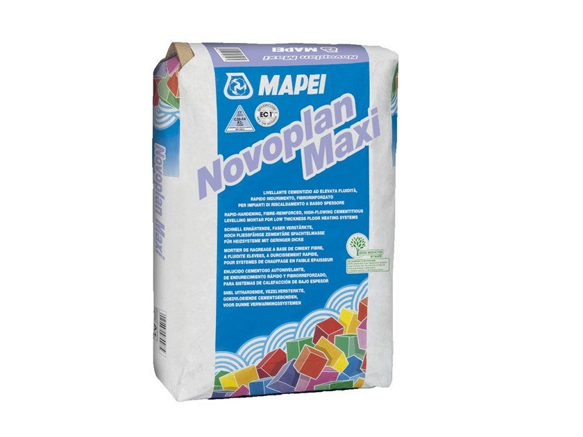 Self-levelling screed NOVOPLAN MAXI by MAPEI
