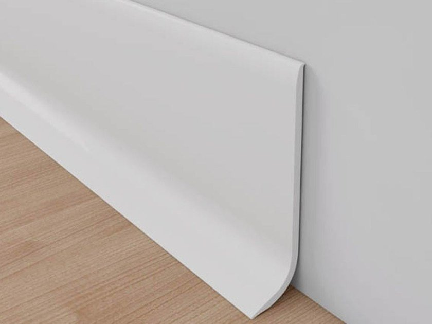 Skirting board NOVORODAPIE® SEMIFLEX by EMAC Italia