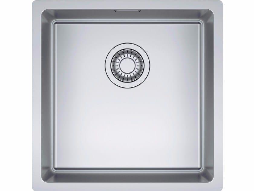 Lavello a una vasca sottotop in acciaio inox NPX 110 By FRANKE