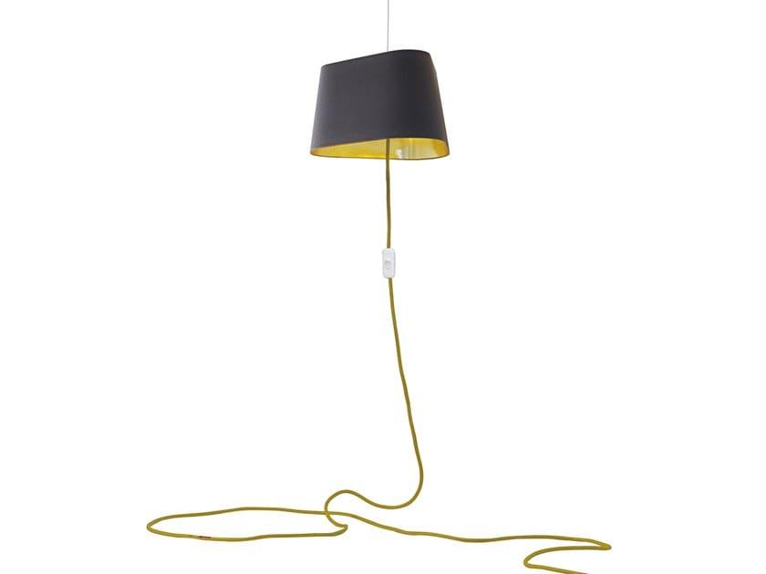Fabric pendant lamp NUAGE NOMAD by designheure