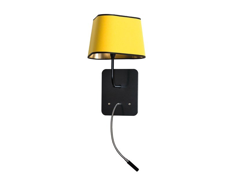 LED wall light with swing arm NUAGE SMALL | Wall light with swing arm by designheure