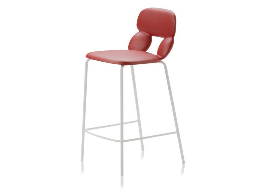 Polyurethane stool NUBE SG 65 by CHAIRS & MORE
