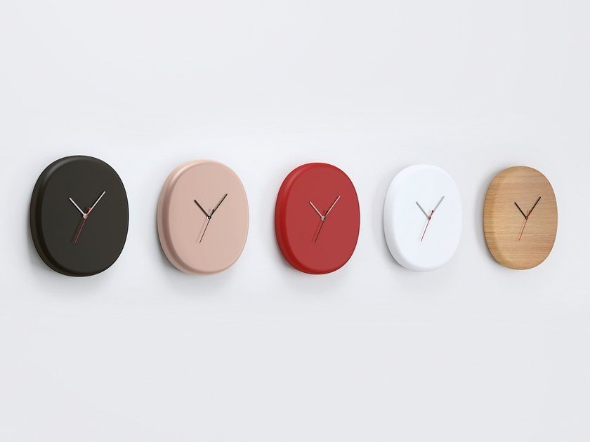 Wall-mounted clock NUBE by Systemtronic