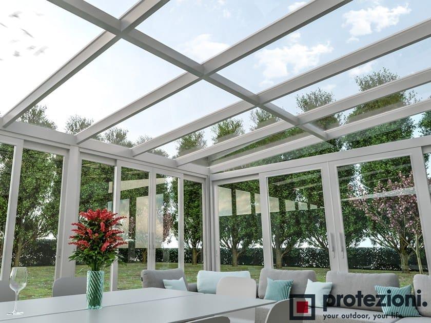 Abri De Terrasse En Aluminium Nubes Fix T T By Protezioni