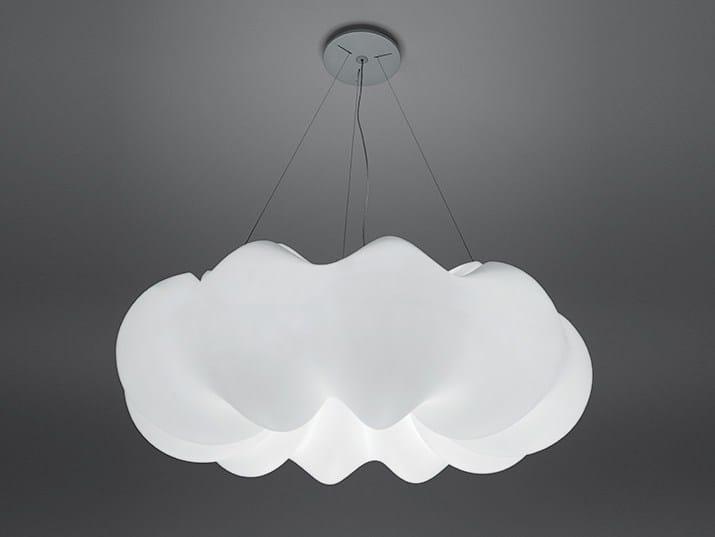 Polyethylene pendant lamp NUBOLI by Artemide