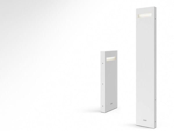 Paletto luminoso a LED in alluminio NUDA | Paletto luminoso by Artemide