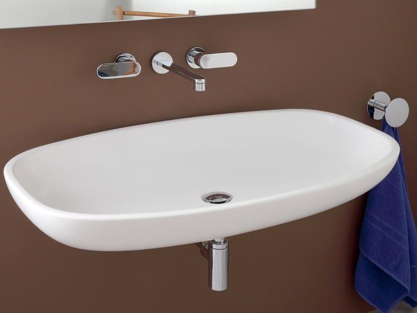 Nuda lavabo sospeso by ceramica flaminia design ludovica roberto