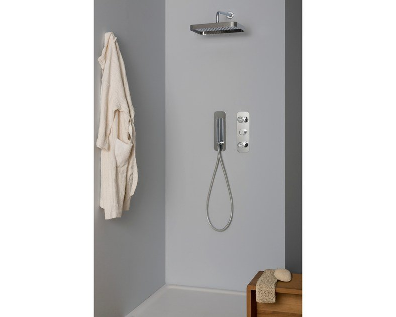 Shower tap with hand shower NUDE | Shower tap by ZUCCHETTI