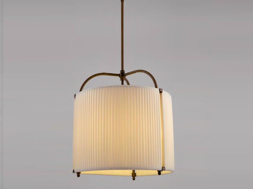 Indirect light fabric pendant lamp NUKU HIVA by Aldo Bernardi