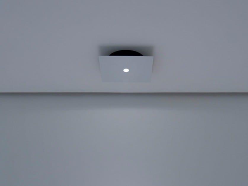 LED metal ceiling lamp NULLA PL by DAVIDE GROPPI
