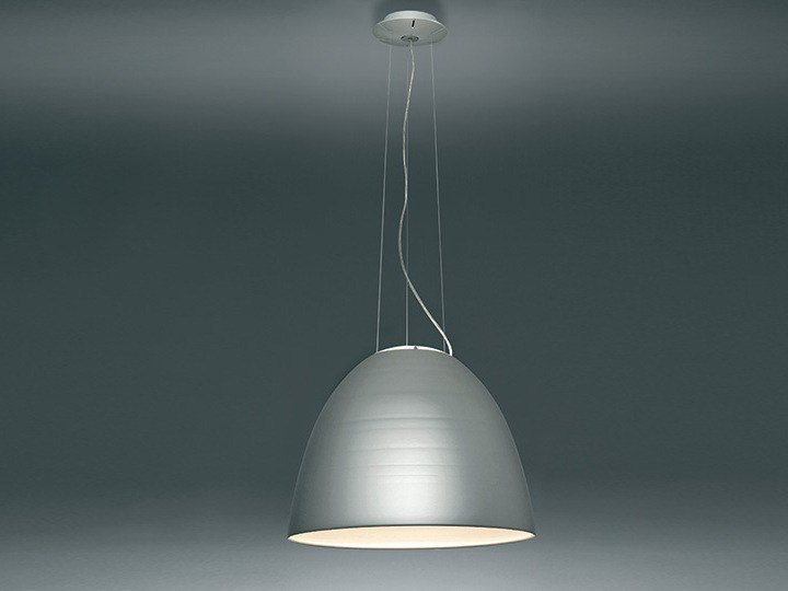 Direct light pendant lamp NUR 1618 by Artemide