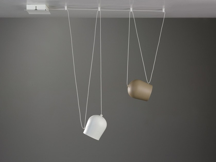 LED pendant lamp NUTS by Cattaneo