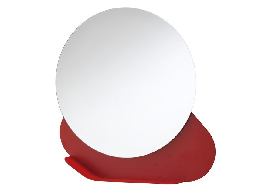 Specchio con mensola da parete NUVOLA by MEMEDESIGN
