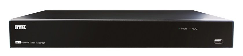 Surveillance and control system NVR 16 canali 1080p PoE by Urmet