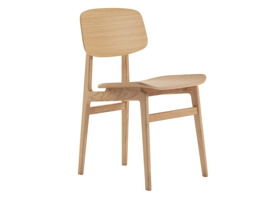 Wooden chair NY11 | Chair by NORR11