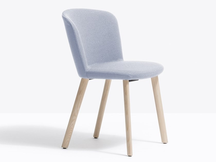 Upholstered fabric chair NYM 2832 by PEDRALI