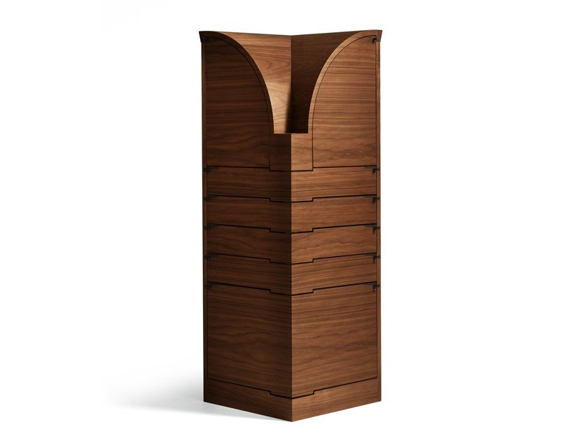 Maple highboard NYN by GIORGETTI