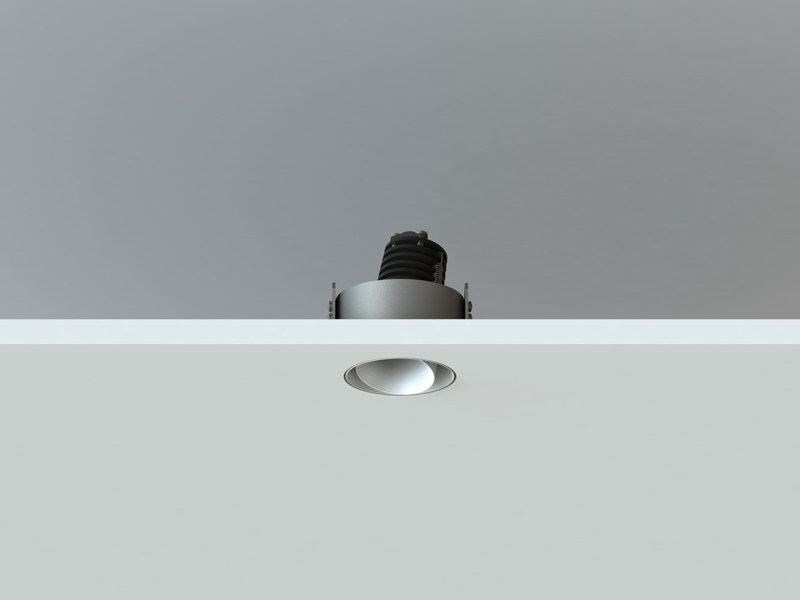 Adjustable recessed spotlight NYX TRIMLESS | Adjustable spotlight by LUCIFERO'S