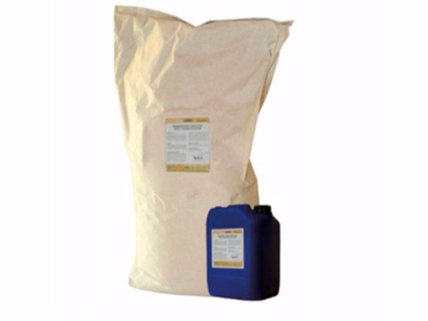 Cement-based waterproofing product NaturaKALK-OSMO by Naturalia BAU