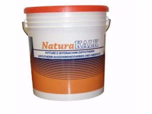 Natural plaster for sustainable building NaturaKALK-PROTECT I by Naturalia BAU