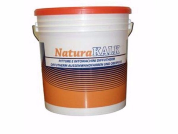 Ecological varnish and paint for sustainable building NaturaKALK-SILICATI P by Naturalia BAU