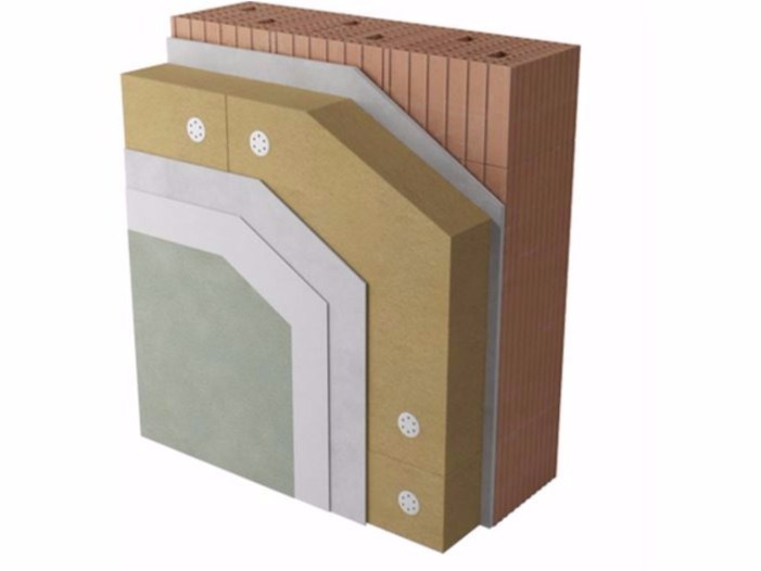 Exterior insulation system NaturaWall by Naturalia BAU