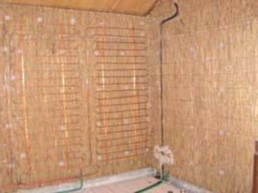 Bamboo fibre Natural insulating felt and panel for sustainable building Bamboo fibre Natural insulating panel by Terragena