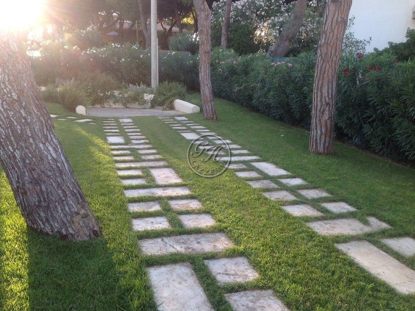 園路 natural stone garden paths 5 by gh lazzerini