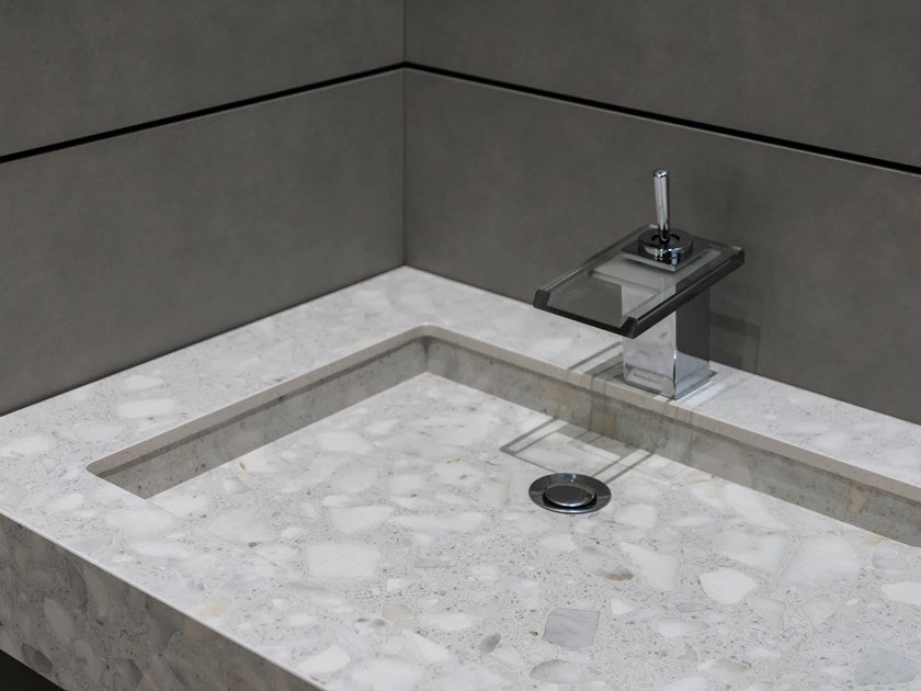 Indoor/outdoor Neolith® wall/floor tiles with granite effect NEOLITH RETROSTONE by NEOLITH