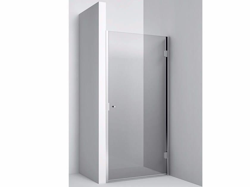 Niche Shower Enclosure with hinged door Niche Shower Enclosure - Hinged door by Rexa Design