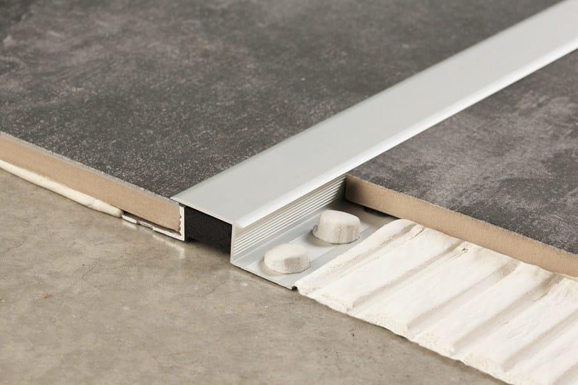 Aluminium Flooring joint Novojunta® Decor XL by EMAC Italia