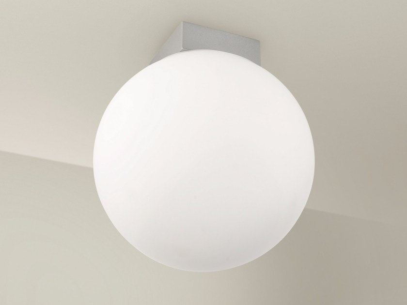 Direct light aluminium ceiling lamp O-LAMP | Ceiling lamp by Lucente