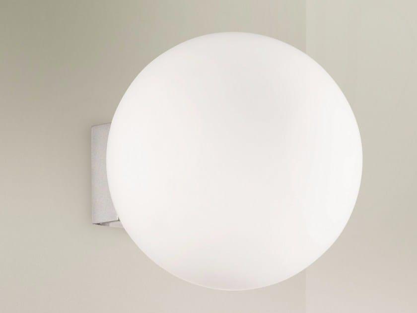 Direct light aluminium wall lamp O-LAMP | Wall lamp by Lucente