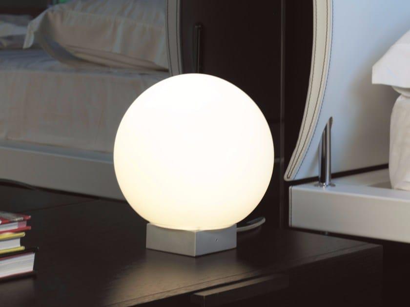 lucente lighting. Direct Light Aluminium Table Lamp O-LAMP | By Lucente Lighting