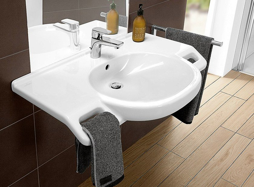 o novo vita washbasin by villeroy boch. Black Bedroom Furniture Sets. Home Design Ideas