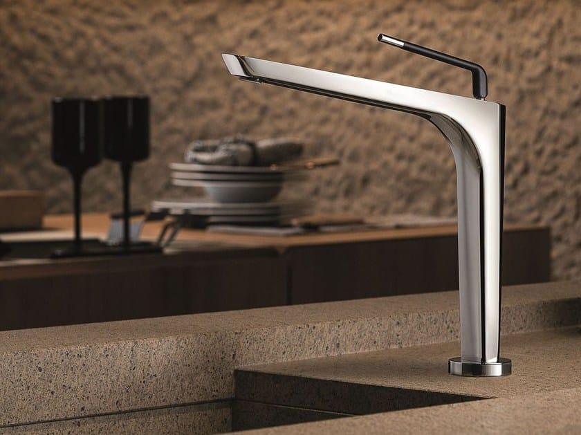 Countertop kitchen mixer tap with swivel spout O'RAMA KITCHEN | Kitchen mixer tap by newform
