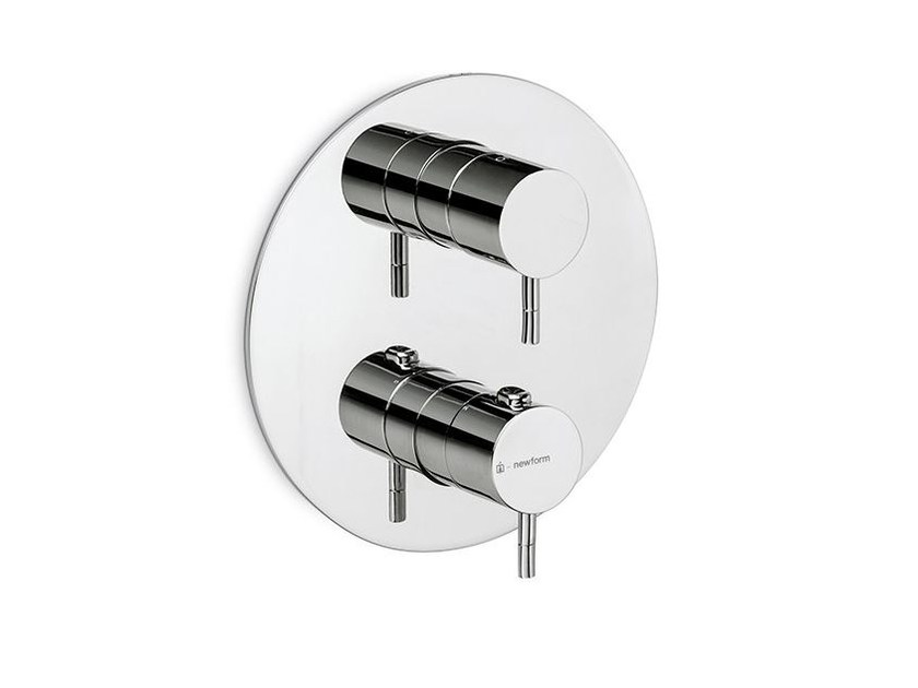 Thermostatic thermostatic shower mixer O'RAMA   Thermostatic shower mixer by newform