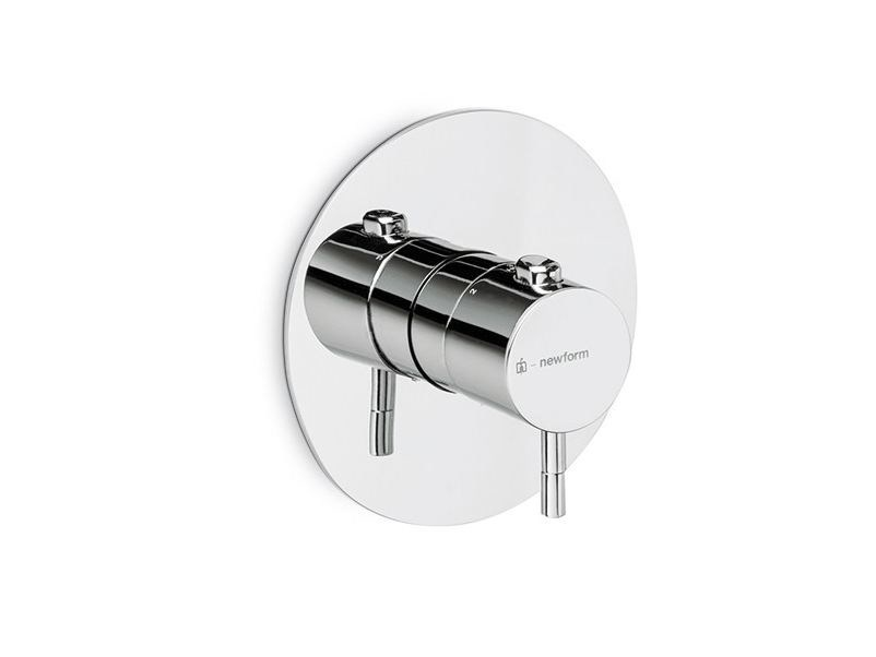 Thermostatic thermostatic shower mixer O'RAMA | Thermostatic shower mixer by newform