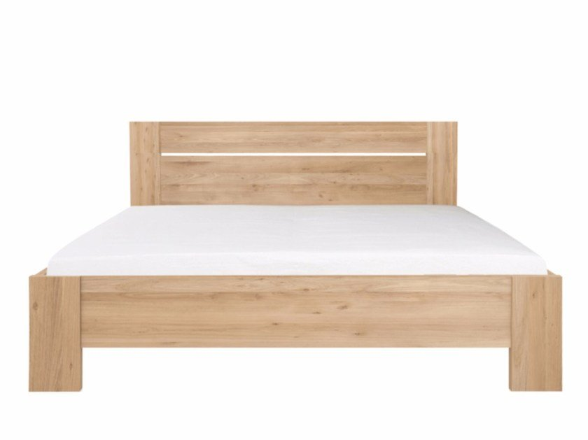 Solid wood double bed OAK AZUR | Bed by Ethnicraft