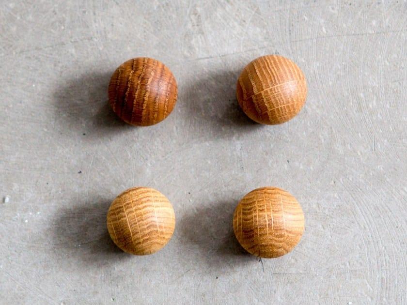wooden magnet oak ball by anne linde design anne linde